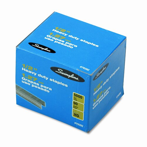 Swingline S.F. 39 Heavy-Duty Staples, 5000/Box