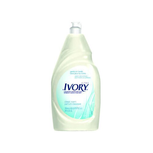 Ivory Dish Detergent Liquid Bottle (1 case of 10 bottles)