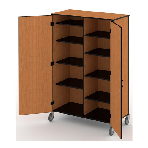 "Fleetwood Split 48"" Storage Cabinet with Casters"