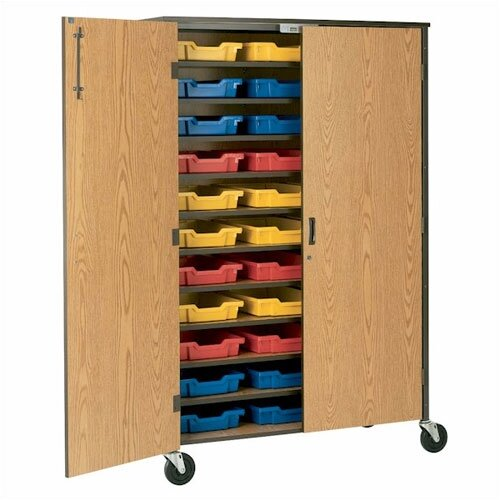 "Fleetwood 72"" H Tote Storage Cabinet with Optional Trays"