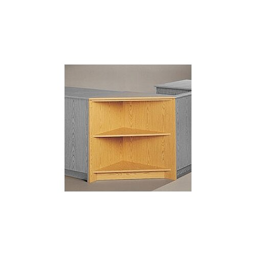 Fleetwood Library Modular Front Desk System Corner Display Unit Bookcase