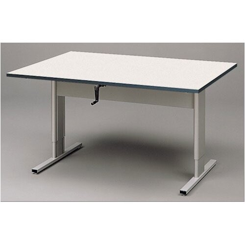 Fleetwood Adjustable Wheelchair Accessible Work Table in Cactus Star