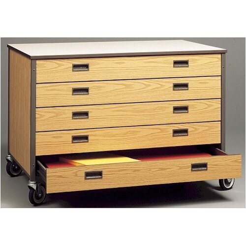 Mobile arts and crafts drawer cabinet wayfair for Arts and crafts storage cabinet