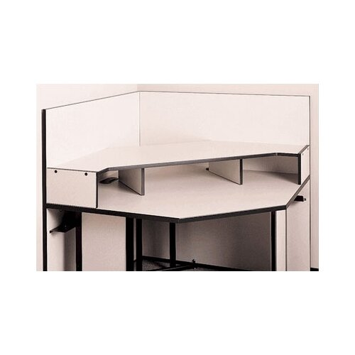 Fleetwood Solutions Corner Table Riser Shelf