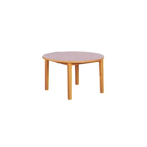 "Fleetwood Library 29"" H Round Table"