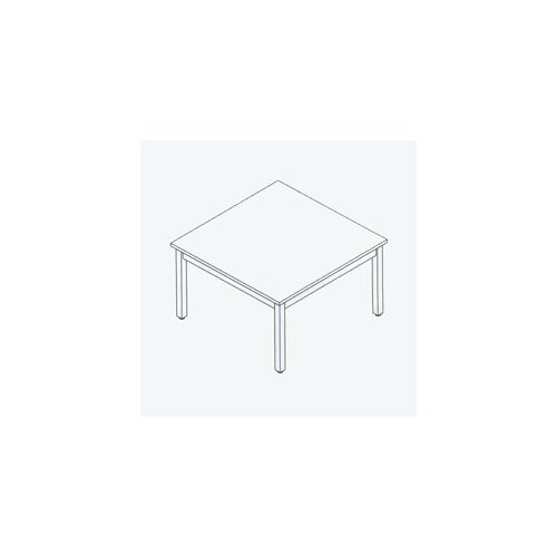 "Fleetwood Library 29"" H Square Table"