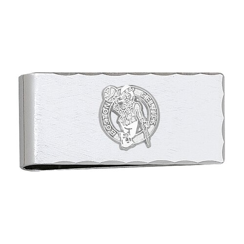 LogoArt® NBA Silvertone Logo Money Clip