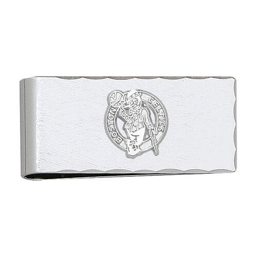 NBA Silvertone Logo Money Clip