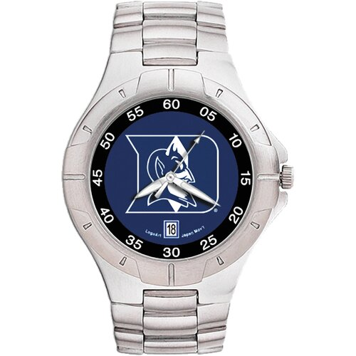 LogoArt® NCAA Men's Pro II Bracelet Watch with Full Color Team Logo Dial
