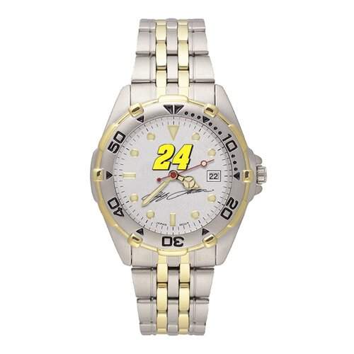 LogoArt® NASCAR Driver Men's All Star Bracelet Watch