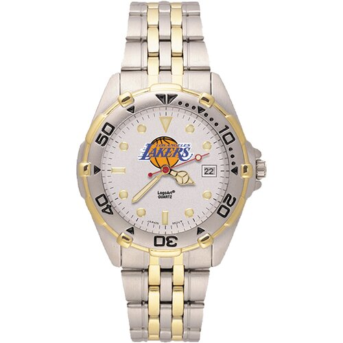 LogoArt® NBA Men's All Star Bracelet Watch with Team Logo Dial