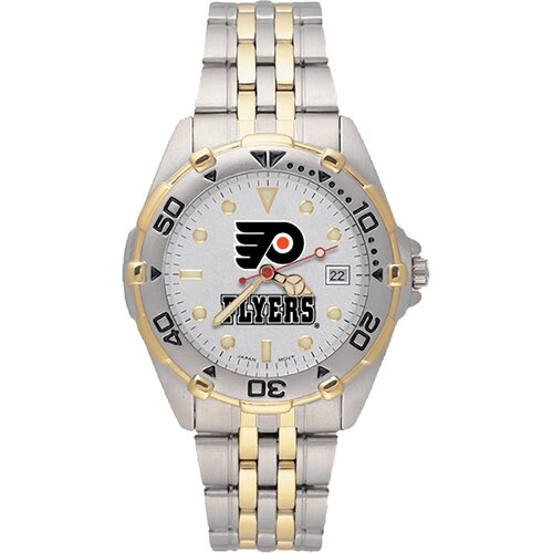 LogoArt® NHL Men's All Star Bracelet Watch with Team Logo Dial