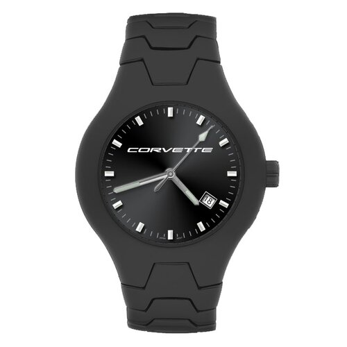 LogoArt® GMC Corvette Men's Black Champion Watch