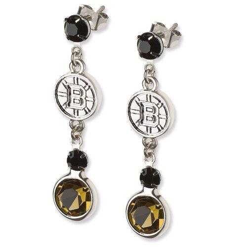 LogoArt® NHL Logo Crystal Earrings