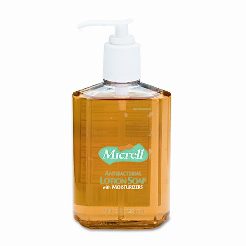 Micrell Antibacterial Lotion Soap, 8 oz.