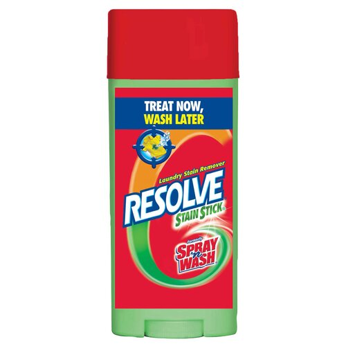 Resolve 3 Oz Stain Stick Laundry Stain Remover