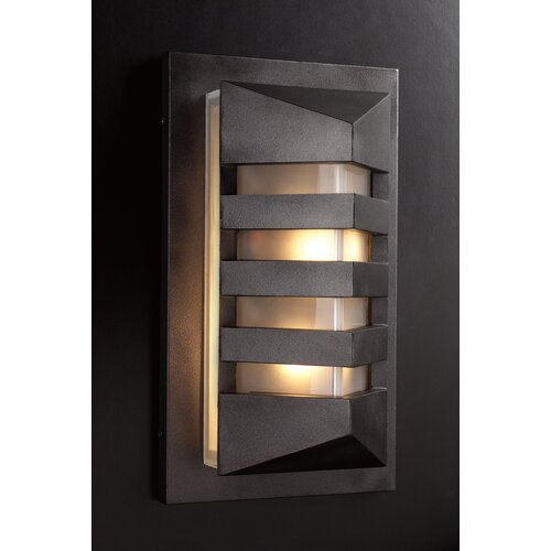 PLC Lighting De Majo 1 Light Outdoor Wall Sconce