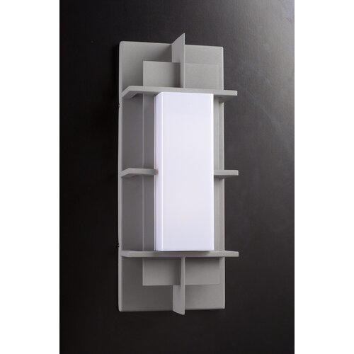 PLC Lighting Decora 1 Light Outdoor Wall Sconce