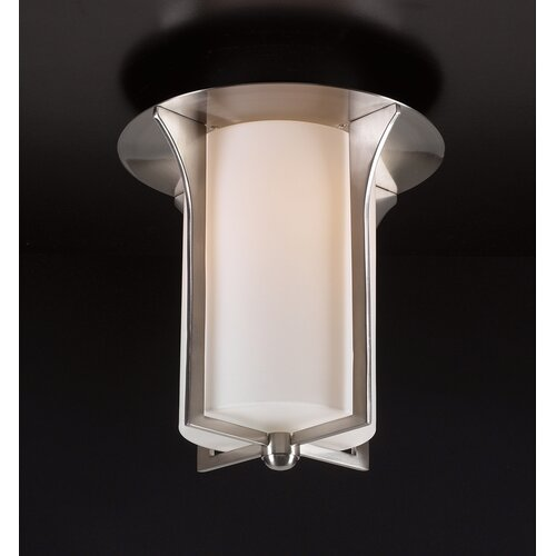 Pixel Semi Flush Mount