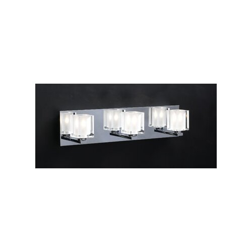 PLC Lighting Glacier 3 Light Vanity Light