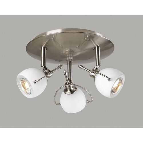 PLC Lighting Focus Semi Flush Mount