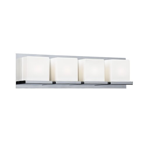PLC Lighting Furlux 4 Light Bath Vanity Light