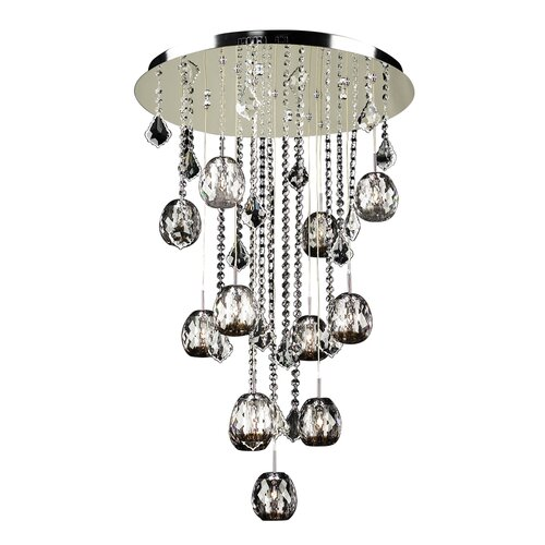 Soleil 12 Light Crystal Chandelier