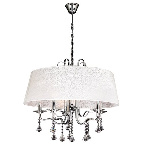 Lily 5 Light Crystal Chandelier