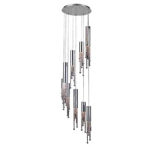 Trento 9 Light Crystal Chandelier