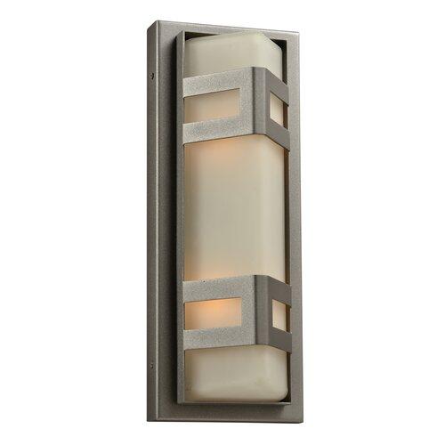 PLC Lighting Sasha 2 Light Outdoor Wall Sconce