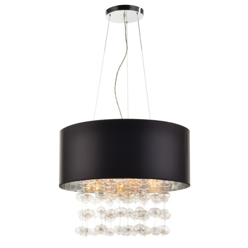 PLC Lighting Bubbles 5 Light Pendant