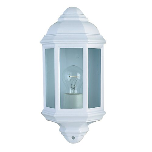 Searchlight Outdoor and Porch 1 Light Flush Wall Light