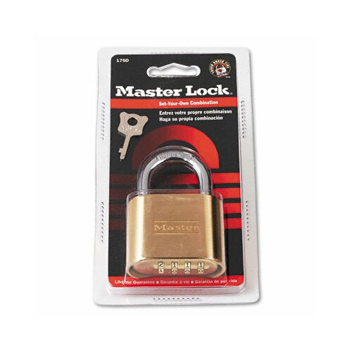Master Lock Company Resettable Padlock