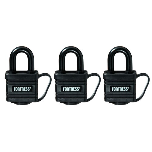 Weatherproof Padlocks (Set of 3)