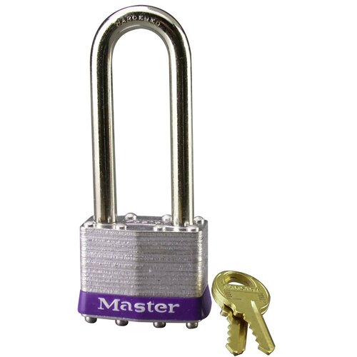 Laminated No. 1 Long Shackle Padlock