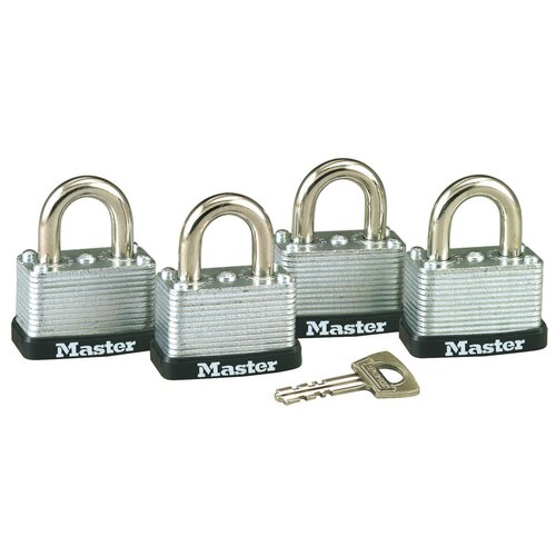 Master Lock Company No. 22 Warded Laminated Padlocks