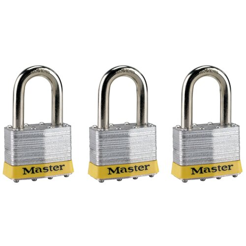 No. 5 Padlock (Set of 3)