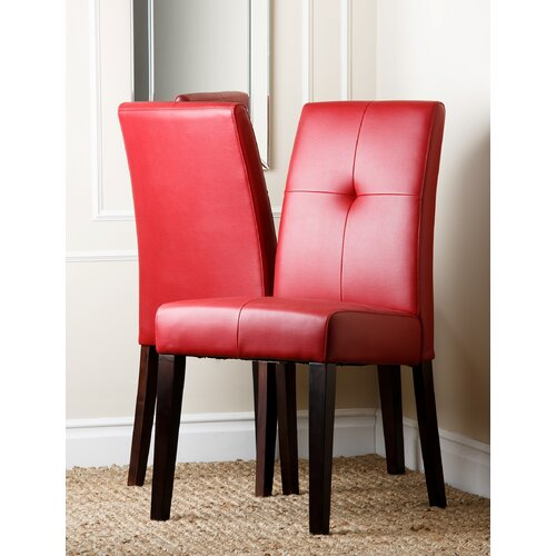 Manhattan Leather Dining Chair (Set of 2)