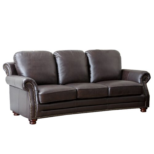 Fairfax Leather Sofa