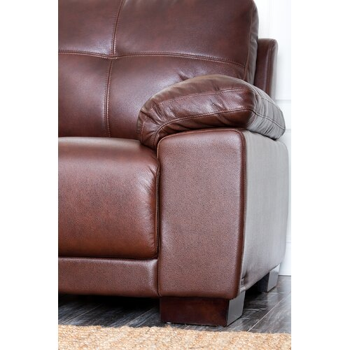 Abbyson Living Florence Leather Armchair