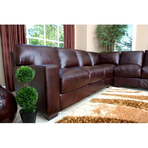 abbyson living vana sectional reviews wayfair supply