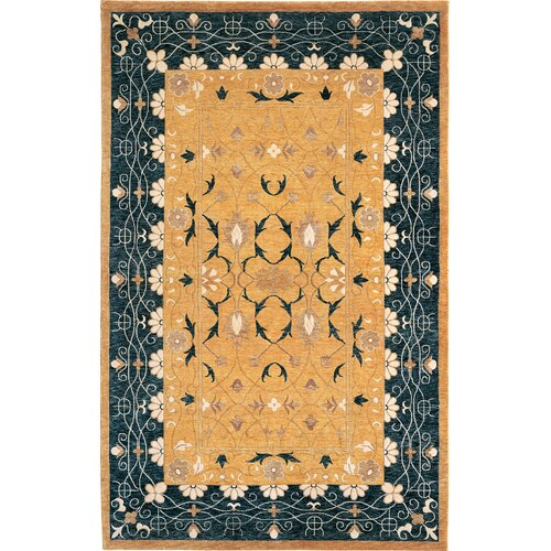 Abbyson Living Harvest Moon Himalayan Sheep Floral Indoor/Outdoor Rug