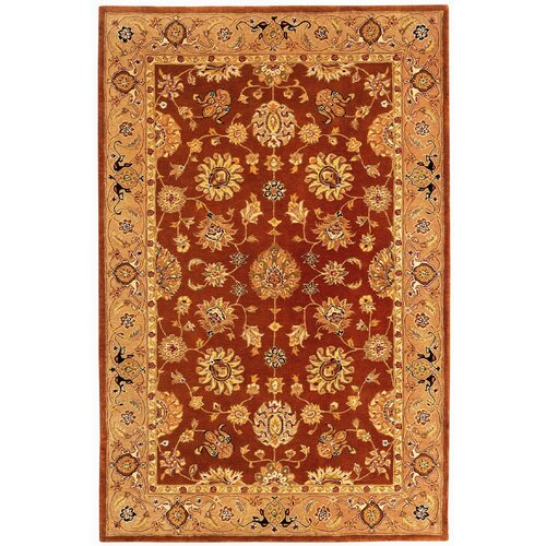 Willoughby Brown Red Area Rug Wayfair