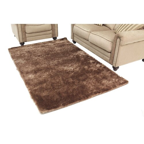 Abbyson Living Brown Shag Indoor/Outdoor Rug