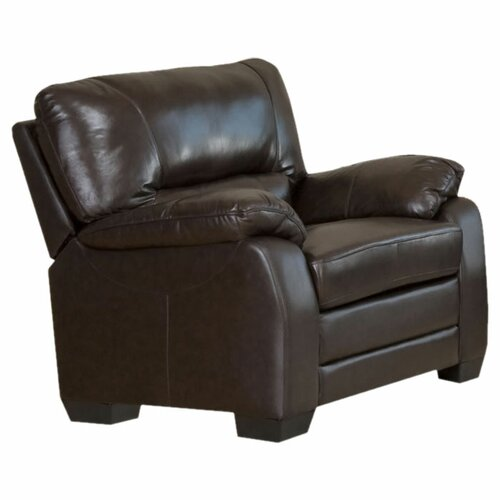 Brookfield Italian Leather Chair