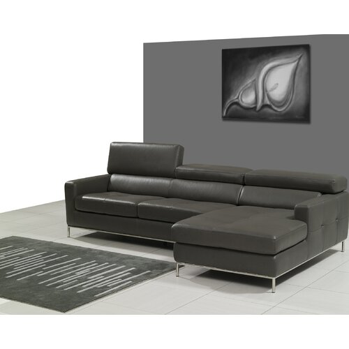 Allison Leather Sectional