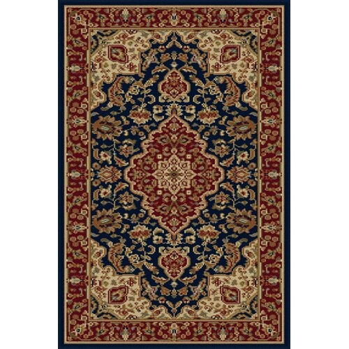 Sensation Navy Blue Oriental Rug