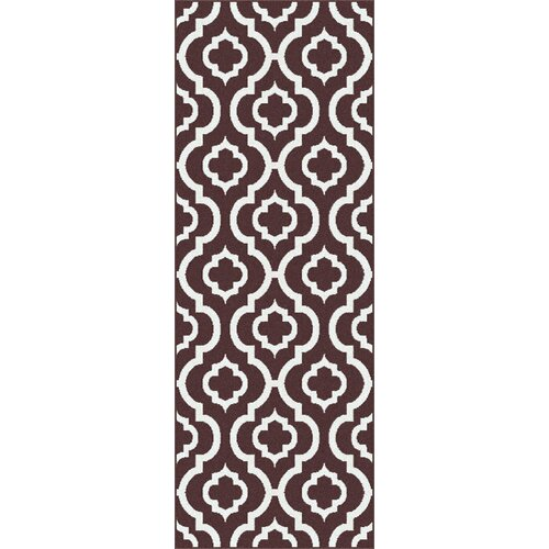 Metro Brown Moroccan Tile Rug