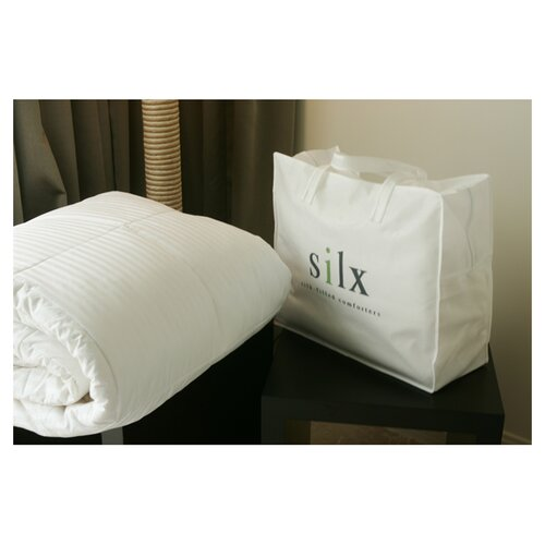 Silx Bedding Silk-Filled Mattress Topper