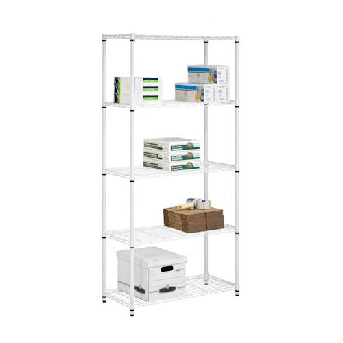 "Honey Can Do Storage 72"" H 5 Shelf Shelving Unit"